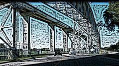 Into The Light - HSS (Daryll90ca) Tags: bridge