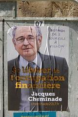 Cheminade (pierre-alain dorange) Tags: élections présidentielles 2017 affiches affiche