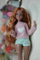 IMG_5747 (Cleo6666) Tags: lana lillycat cerisedolls marron glacé bjd doll chibbi