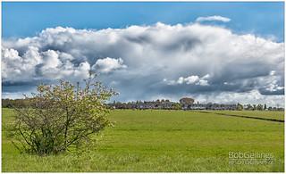 Raincloud Over Hillegom