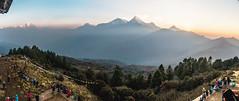 Poon Hill (aaron.beitzel) Tags: nepal himalayas mountains whitecaps panorama sunrise buddhist landscape annapurna machhapuchhre trek trekking hike sun fog travel asia canon