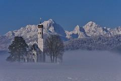 St. Coloman (flori schilcher) Tags: kirche schwangau st coloman sunshine schilcher winter