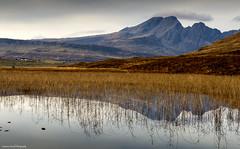 On reflection (lawrencecornell25) Tags: landscape waterscape scenery scotland skye isleofskye lochcillchriosd blaven blabheinn reflection nature outdoors nikond4
