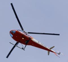 D-HAAR  Enstrom F-28F fly to Airbus Workshop (Greby-Johann) Tags: dl helicopter dhaar enstrom f28f fly airbus workshop niemann maschinenfabrik calden kassel airport flughafen ksf überflug werkstatt bunt hubschrauber heli 280c shark