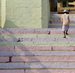 Leaving the Ghat