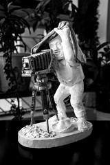 Ansel Adams in action... (mehtasunil) Tags: anseladams gift statue inaction legend master viewcamera largeformat leicalens leicaq leicaimages leicacamera leicaindia skancheli redmatrix