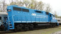 GMTX 2661 GP38 full side (kitmasterbloke) Tags: tuckahoe nj usa jersey railroad tourist iutdoor transport diesel locomotive train