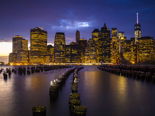 Manhattan on the Edge of Night