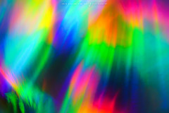 Razzi (Greg Collins Fine Art) Tags: abstract macro light lights rainbow spectrum color colors red orange yellow green aqua blue pink purple