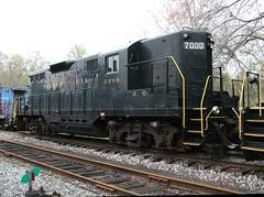 PRR 7000 GP9 front (kitmasterbloke) Tags: tuckahoe nj usa jersey railroad tourist iutdoor transport diesel locomotive train