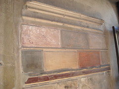 Stucco 1st style: marbre imitation (2nd-1st century BC) - Samnitic House at Herculaneum (* Karl *) Tags: italy stucco ercolano herculaneum
