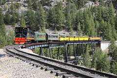 The Georgetown Loop (JayLev) Tags: railroad bridge train colorado loop georgetown