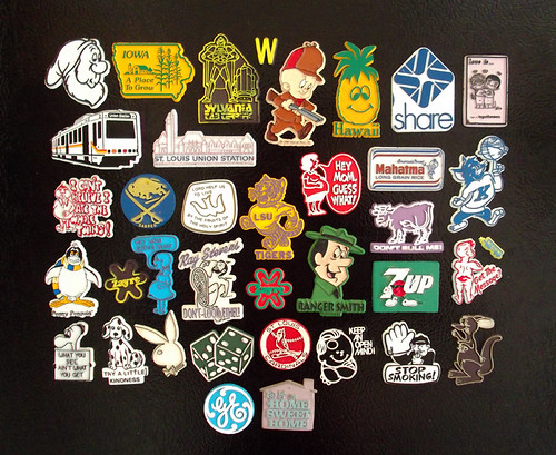 New Batch of Vintage Magnets - 70