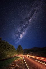 Road to the stars (Ading Attamimi) Tags: longexposure stars landscape nikon australia melbourne victoria alpine milkyway porepunkah uploaded:by=flickrmobile flickriosapp:filter=nofilter