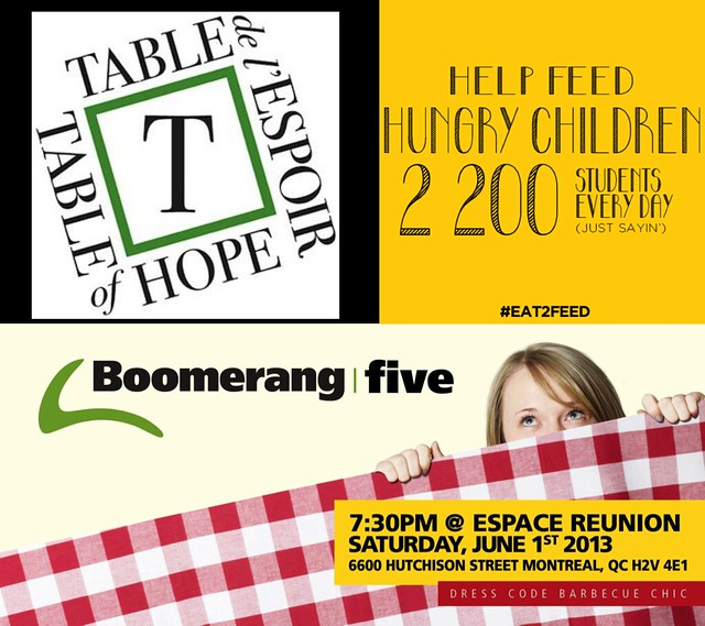 Table of Hope and Boomerang
