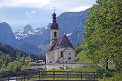 Inzell (2013) Knigssee & Ramsau (Gnter Hentschel) Tags: see nikon wasserfall berge alm alpen ramsau bgl knigssee inzell watzmann stbartholom d40 wasse malerwinkel nikond40 kirchlein