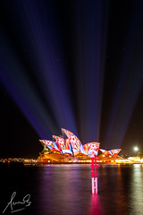 Vivid 2013 Opera House Projections (sachman75) Tags: building art architecture artistic sydney culture australia nsw newsouthwales lightshow sydneyharbour soh sydneyoperahouse projections canon1740mmf4 canon5dmarkii vividsydney vivid2013