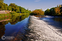 Weir 96780613. (johndugganfoto) Tags: riverbarrow inlandwaterways johndugganfoto millfordlock