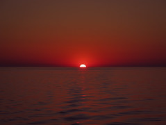 Step one (Giuseppe Suaria) Tags: sunset red sea sun tramonto mare sole rosso