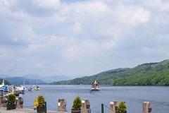 _6078398_m_F (Emiko and Daniel) Tags: summer lake water ferry ship lakedistrict olympus lakeside cumbria lakewindermere omd 2013 em5 lumix20mmf17
