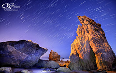 El Matador at Night (TheMalibuArtist) Tags: nightphotography losangeles nightscape startrails landscapephotography discoverlosangeles discoverla seacapephotography
