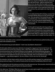 TG caption: Marilyn's double (Jenni Makepeace) Tags: toronto ontario canada fetish transformation magic tgirl sissy caption select captions mtf episodic tgcaptions tgcaption