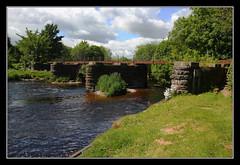 The Difference Between East And West (K-Burn) Tags: bridge abandoned metal angus viaduct pillars dismantledrailway riversouthesk bridgeofdun barnhead aberdeenrailway powmouthviaduct