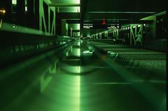 Airport Reflection (bior) Tags: reflection green film airport slidefilm velvia 35mmfilm fujifilm velvia50 fujivelvia filmphotography iso50 50l canoneosrebel2000 ef50mmf12lusm
