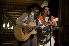 Show in the saloon