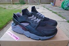 Nike Air Huarache LE 'Black / Cool Grey' (609020 001) ('00). (gooey_wooey) Tags: black 2000 sneakers trainers nike retro le kicks huarache nikeair