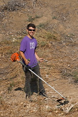 UC Davis students help create sustainable water retention basins surrounding UC Davis' Service Unit Park on our west campus. (UC Davis Arboretum & Public Garden) Tags: public water students by garden education control native quality wildlife arboretum erosion research learning grasses lands uc davis ponds leading stormwater handson basins naturalized