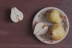 Pears (Kate Morozova) Tags: summer stilllife food fruit canon pears 50mm14 foodphoto 500d