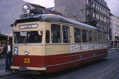 JHM-1977-1231 - Norvège, Trondheim, tramway (jhm0284) Tags: norvège norvege