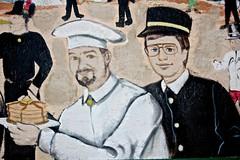 History Wall Street Art (Hypnotica Studios Infinite) Tags: history newjersey downtown historic timeline revolutionarywar past jerseyshore tomsriver historywall huddypark downtowntomsriver