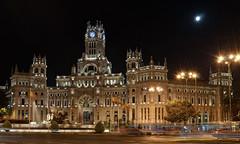 El Palacio de Cibeles Por La Noche (Fotomondeo) Tags: madrid españa architecture night noche spain arquitectura nikon palace palacio palaciodecibeles nikond7000