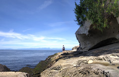 Sandstone sea cliffs (Fearon-Wood Photography) Tags: park vancouver georgia island galiano columbia british strait provincial dionosio