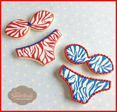 Bikinis - Cookies (One Sweet Treat) Tags: sandals 4thofjuly independenceday swimsuits bikinis onesweettreat clothingcookies