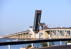 Puente Carranza (Emilio J. Rodrguez-Posada) Tags: real puerto puente san open septiembre cadiz fernando abierto carranza subido 2013 bahiadecadiz puentecarranza septiembrede2013