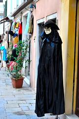 Venetian Mask (ImagoInspirare) Tags: trip venice italy art love outside play mask arts fair fantasy venetian