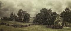 Farmland on a Rainy Day