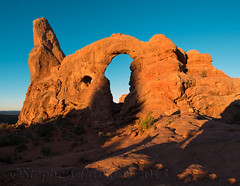 Morning Light at Turret Arch (Wandering Sagebrush) Tags: windows morninglight archesnationalpark turretarch moabutah