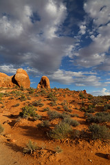 Arches National Park, Utah (elrentaplats) Tags: park sky utah desert nps arches national moab archesnationalpark