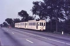 Once upon a time - Belgium - Hekelgem (railasia) Tags: belgium flanders hekelgem nmvbsncv groupbrussels interurban metergauge routeal motorcartwotrailers infra alignment sixties