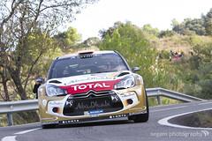 Dani Sordo / Carlos del Barrio - Citroën Total Abu Dhabi WRT (Citroën DS3 WRC) (segam · photography) Tags: del carlos dani citroën wrc total abu dhabi barrio ds3 wrt sordo
