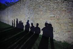 Shadows at Servigliano PoW camp