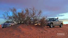 desert  (aldaeys) Tags: sunset desert 2010     1435 2013 skaka abdulwahed aljouf        aldaeys   silvrado