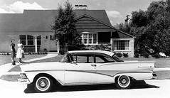 1958 Ford Fairlane 500 Club Victoria (Railroad Jack) Tags: