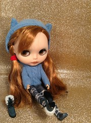 Blythe a day December- Snow Boots