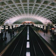 L'Enfant Plaza (mlee525) Tags: subway square washingtondc dc metro iphone lenfantplaza lenfantplazametrostation vscocam uploaded:by=flickrmobile flickriosapp:filter=nofilter