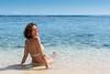 Me in the water (koalie) Tags: ocean vacation sky holiday beach water reunion smile island sand indianocean saintpaul laréunion saintgilles koalie coraliemercier byvv06 byvlad plagedelermitage 2013summervacation